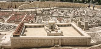 Jeruzsálem a Templommal.