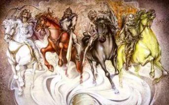 négy lovas